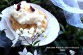 Bignè crema di ricotta e gocce di cioccolato bianco