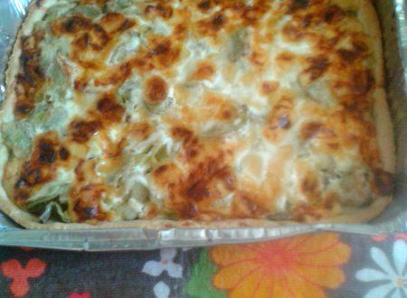 Crostata di carciofi e formaggio