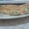 tarte al salmone e zucchine