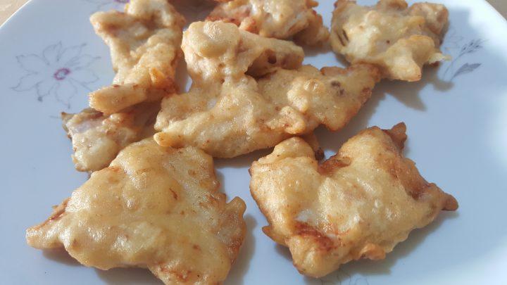 pollo pastellato e fritto