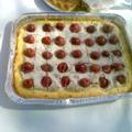 crostata ricotta e ciliegie