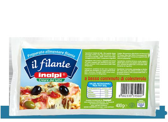 Esempio di formaggio per pizza (Todis discount)