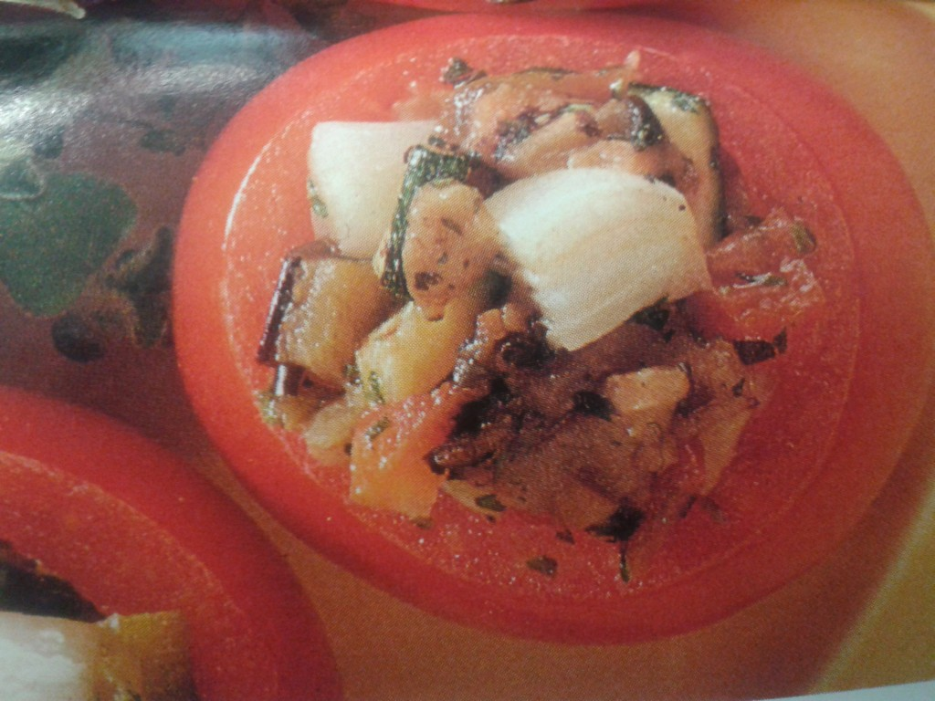pomodori farciti alla nepitella