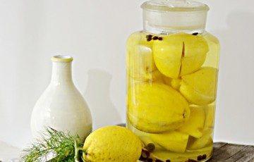 Limoni al sale – citron confit, come prepararli e perché
