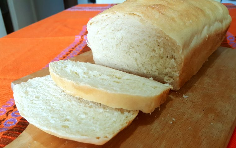 Pane in cassetta o pan bauletto