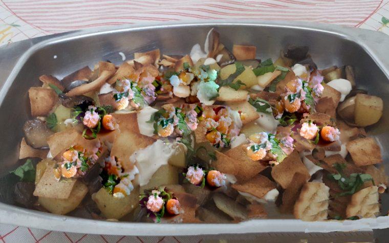 Insalata di melanzane e patate