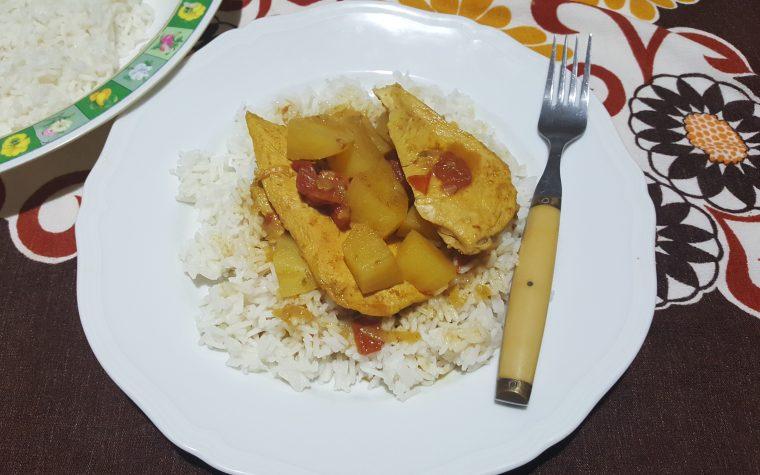 Pollo malese al curry