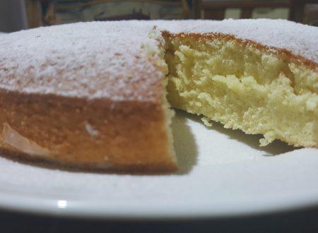 Hot milk sponge cake – Torta al latte caldo