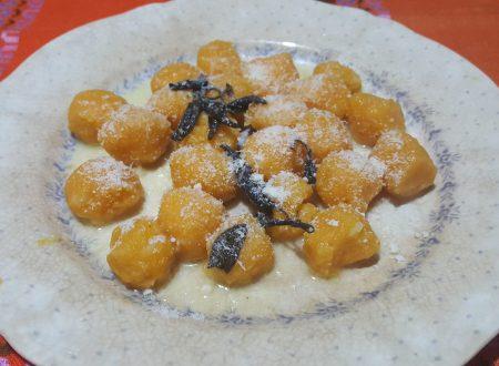 Gnocchi di zucca al cucchiaio