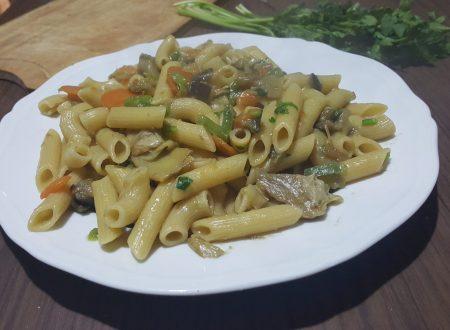 Rigatoni alle verdure
