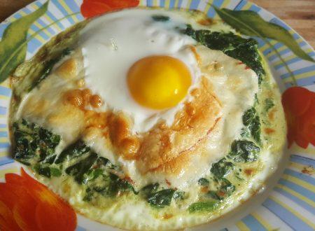 Uova nel prato