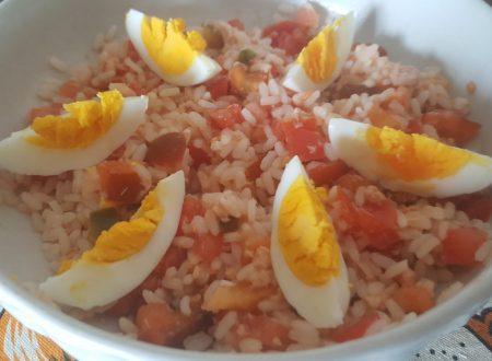 Insalata di riso giallorossa