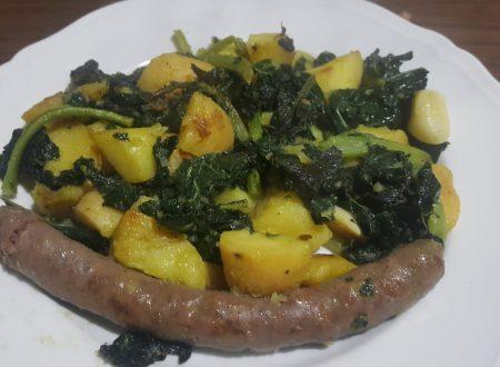 Cavolo nero, patate e salsiccia