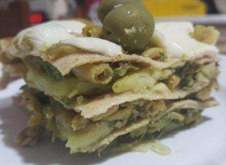 Lasagne integrali vegetariane