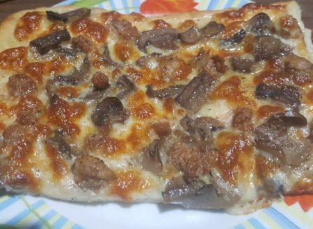 Pizza alla boscaiola