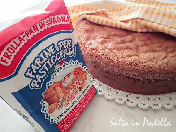 Pan di Spagna soffice senza lievito