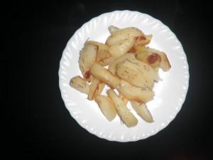 Patate al forno croccanti con rosmarino e pangrattato