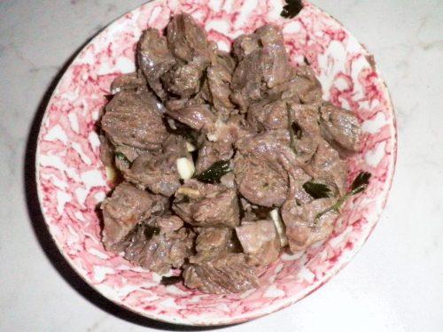Bollito di carne alla catanese (canni cunzata)