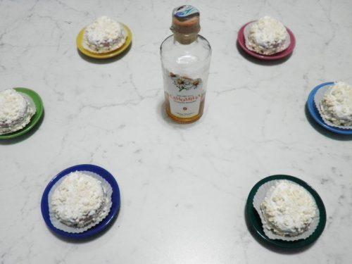 Tortine con Liquore alla Camomilla in Grappa Finissima Sibona
