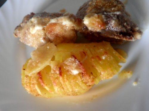 Patate Hasselback croccanti