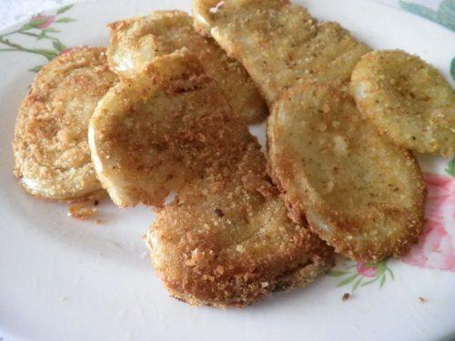 Cotolette di finocchio fritte e croccanti