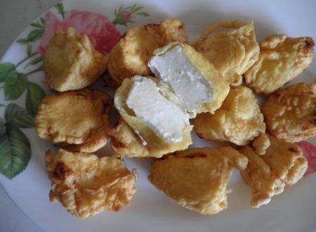Pepite di ricotta fresca pastellate