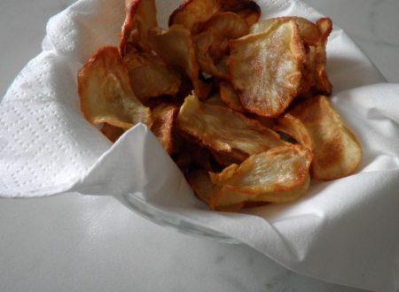 Chips di Topinambur con erbe aromatiche