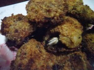 Fusi di pollo croccanti al forno