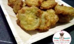 Pomodori verdi fritti con farina di semola