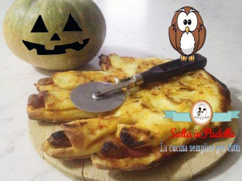 Pizza Mano Mostro di Halloween