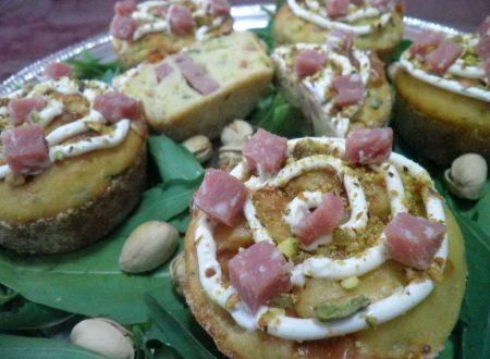 Mini Cupcake con zucchine e il Golfetta