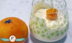 Crema Chantilly aromatizzata all'arancia