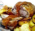 Arrosto di maiale sbronzo con patate alla birra