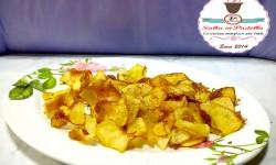 Chips di patate con fior di sale alla liquirizia
