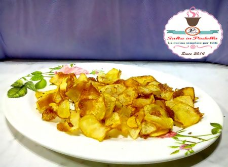 Chips di patate con fior di sale alla liquirizia