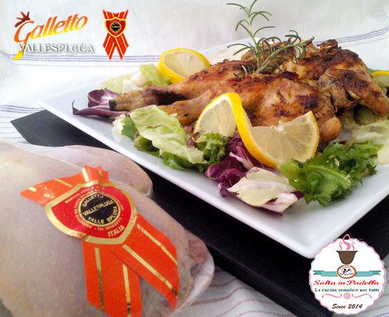 Galletto marinato con spezie orientali e grigliato