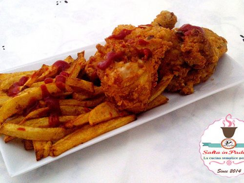 American chicken croccante allo yogurt e spezie