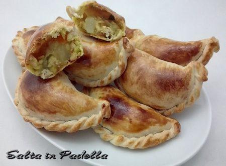 Empanadas Argentine con Galletto verdure e curcuma