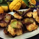 Polpette di Galletto in foglie di limone