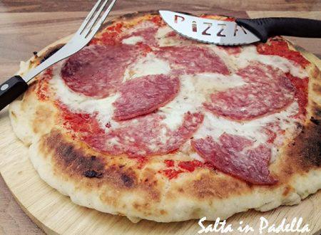 Pizze Senza Glutine con Salame e Mozzarella Come in pizzeria