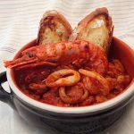 Zuppa di pesce misto veloce