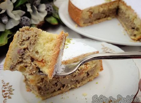 Cassata al forno con ricotta di bufala al pistacchio di Bronte