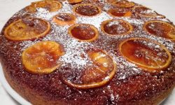 Torta rovesciata alle arance caramellate