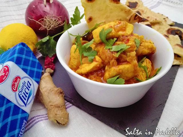 Pollo al Curry ricetta originale