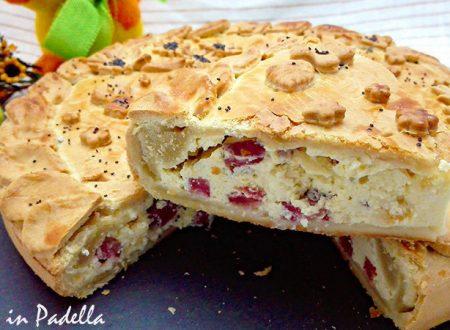 Pizza Rustica con la Lucanica di Picerno