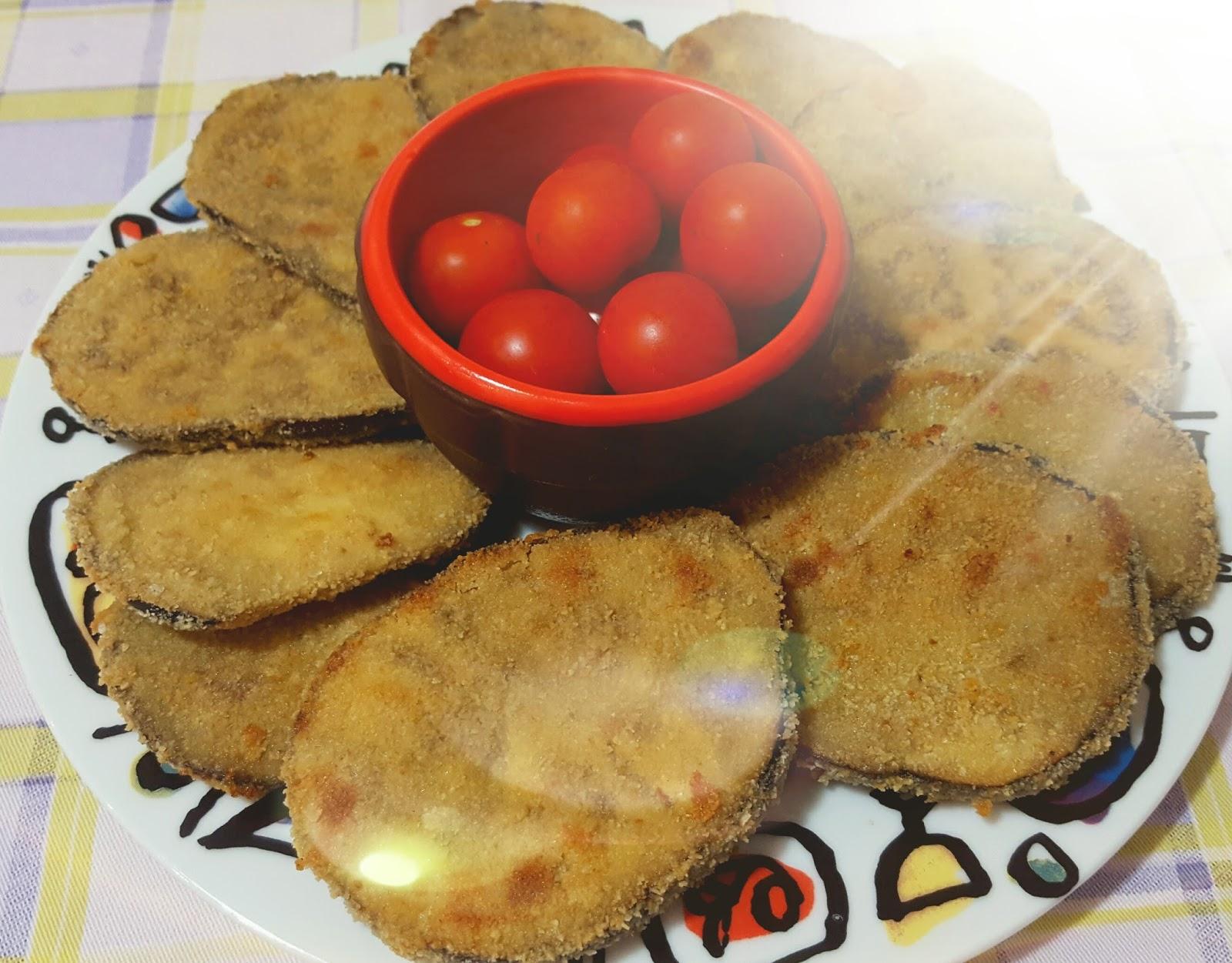 melanzane impanate cotte al forno