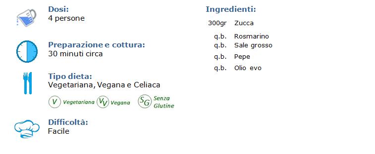 zucca al forno
