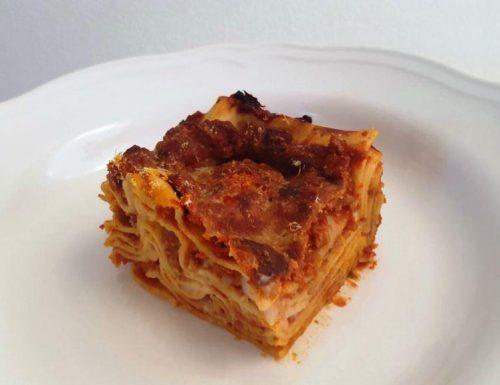 Lasagne al ragù di tofu