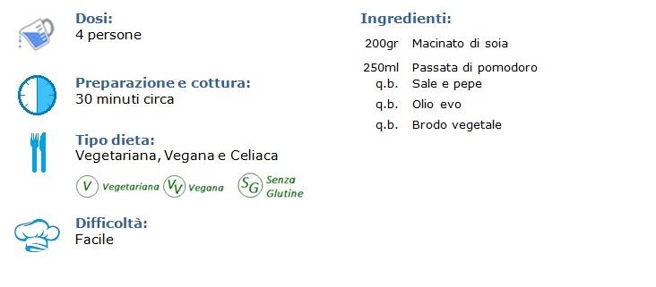 ragù vegano di pomodoro