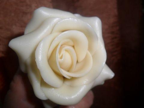 Cioccolato plastico bianco